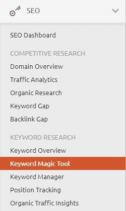 semrush-keyword-magic-tool-menu