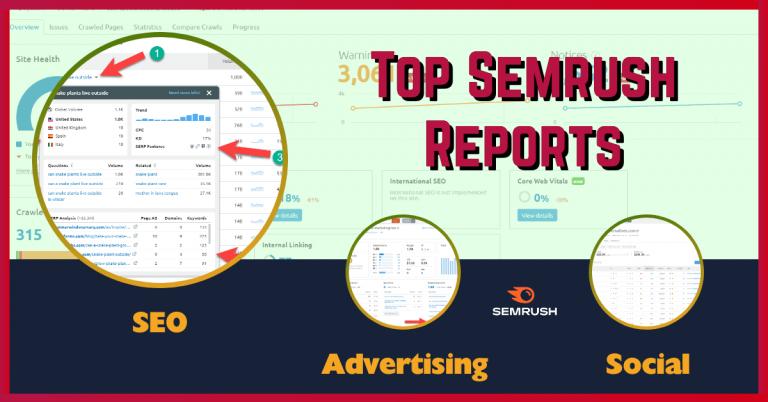 Semrush reports featured image